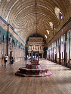 Viollet le Duc, Pierrefons, Great Hall