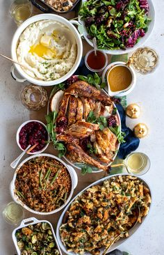 Right here Im sharing the best thanksgiving recipes you can find! Over 100 of my favorite recipes from salads and apps to dessert and cocktails.