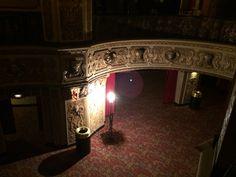 The Fox Theater's ghost light. #STLPRS