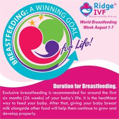 World Breastfeeding Week 2014 from 1 to 7 August
