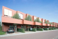 Malburgen II - KENK architecten Sustainable Architecture, Sustainability, Pergola, Outdoor Structures, Type, Photography, House, Terraced House, Everything