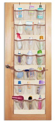Over The Door Pocket Organizer. $15