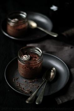 Milk, Coconut and Chocolate Pot de Creme