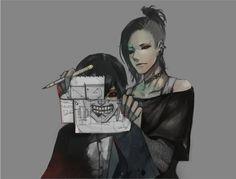 "Tokyo Ghoul { aka ""Tokyo Kushu"" } ~~ Kaneki and Uta"