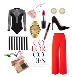"""""""Ore"""" by nimotalai on Polyvore featuring Roland Mouret, Nixon, MAC Cosmetics, Kate Spade and Bobbi Brown Cosmetics"""