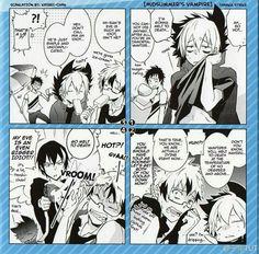 Kuro, Lawless, Mahiru and Licht on a summer day