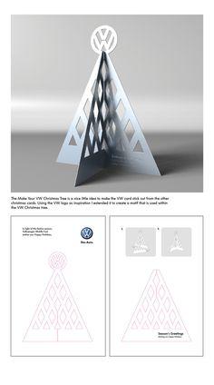 Volkswagen - Make Your VW Christmas Tree by Assia Merazi, via Behance