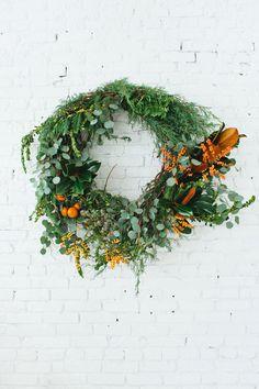 wreath workshop   http://www.designlovefest.com/2014/11/wreath-workshop/