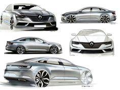Renault Talisman by A. Martot