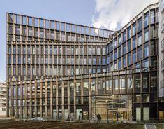 Boulogne-Billancourt Office  / Studioninedots  + Ateliers 115 / Boulogne-Billancourt, France