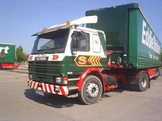 """This week we have a P Cab, Series 3 from 1995 named """"Rosita Mary"""". Eddie Stobart Trucks, Old Wagons, Road Transport, Cars And Motorcycles, Series 3, Classic, Vehicles, Vans, Europe"""