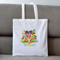 Your place to buy and sell all things handmade Tote Bags For College, Rihanna, Cool Style, Reusable Tote Bags, Bag Design, Make It Yourself, Handbags, Boho, Trending Outfits