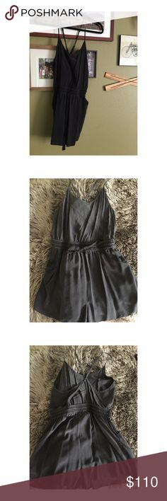 Aritzia silk romper 🌙 Aritzia 100% silk romper. Worn once, in good condition 🌜 Aritzia Other