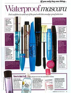 Maxi Mascara Waterproof in Woman Magazine
