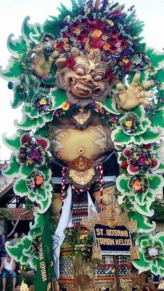 Ogoh-ogoh festival during Nyepi ceremony, Bali-Indonesia Indonesian Art, Religious People, Paradise Island, Beautiful Places In The World, Balinese, Beautiful Islands, Southeast Asia, Asian Art, Places To Travel