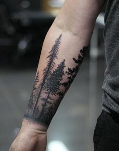 20 New Ideas for tattoo designs sleeve nature Ankle Band Tattoo, Cuff Tattoo, Tree Tattoo Designs, Best Tattoo Designs, Forest Tattoos, Nature Tattoos, Forearm Tattoo Design, Forearm Tattoo Men, Forearm Sleeve