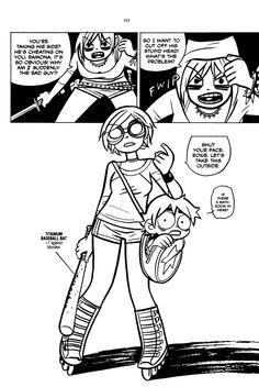 Scott Pilgrim. I can't believe how long it took me to finally pick up this awesome comic. Normally manga or manga like books are not my style but this one is worth reading.
