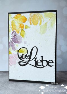 INKognito ~ Cards by Natalie: DT: With Love / Alles Liebe #simonsaysstamp