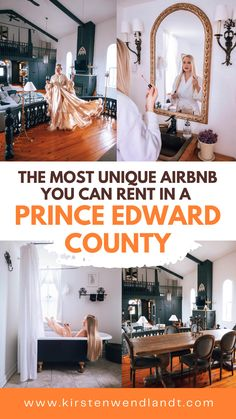 Looking for a unique escape here in Ontario? Look no further than the Prince Edward County Church! This 1800's church turned airbnb will leave you breathless. This is definitely one of the most unique and glamorous vacation rentals in Ontario! Kingston Ontario, Prince Edward, Vacation Rentals, Canada Travel, Travel Guides, Destinations, Van, Live, Unique