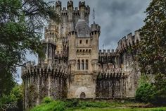 Castillo de Butrón - Vizcaya - España