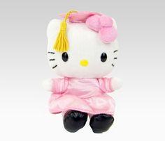 """Hello Kitty Pink 5"""" Plush: Graduation 2012"""