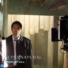 Photos - Supernatural - Season 9 - Cast Promotional Photos - BTS Cast Promotional Photos - tumblr_mtcclygU7u1qk546lo1_500