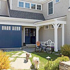 Family-Friendly Maine Cottage | Create an Outdoor Room | CoastalLiving.com