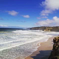 Taking the southern air on a nice autumn afternoon in Jan Juc #beach #waves #swell #cliff #janjuc #surfcoast #torquay #ocean #victoria by davcalwil http://ift.tt/1X8VXis