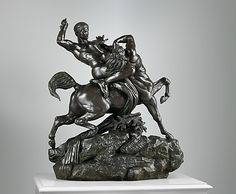 Theseus Fighting the Centaur Bianor - Antoine-Louis Barye