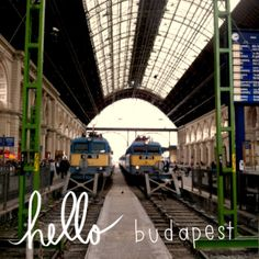 At the train station in #Budapest, #Hungary   #travel #travelblog #centraleurope #traveler #wanderlust #trainstations