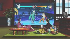 Mephisto and Amaimon Playing video game | Blue Exorcist
