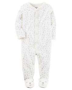 Cotton Snap-Up Sleep