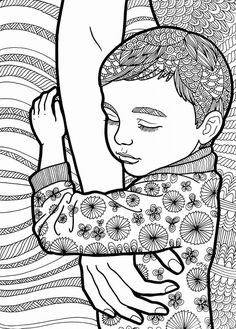 """Sleeping by mama - """"Treasure of the Heart"""" adult coloring book by Kate Holloman is available on Amazon!   https://www.amazon.com/gp/aw/d/1544753705/ref=mp_s_a_1_1?ie=UTF8&qid=1508446058&sr=8-1&pi=AC_SX236_SY340_FMwebp_QL65&keywords=kate+holloman"""
