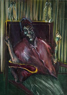 Francis Bacon, 'Pope with Owls', Francis Bacon Pope, Bacon Painter, Chaim Soutine, Ad Art, Figurative Art, Art Images, Fine Art, Van Gogh, Drawings