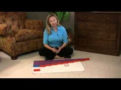 Montessori Math Lesson - Number Rods Excellent! This is not just for Montessori teachers--this is the BEST way to teach math to all children.