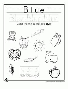 Color My World Series #5 ~ Blue. Introducing the Color Blue into Daily Activities.