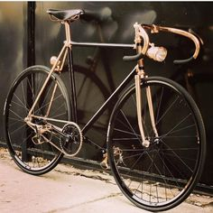 Polished copper is a passion shared by Brooks and Uptown Riders, you can see why.