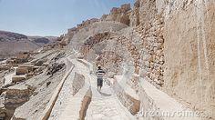 Troglodytic village of Chenini, desert stone, eastern Sahara, southern Tunisia. Africa.