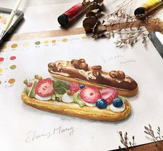 Instagram Pastry Art, Food Drawing, Food Art, Photo And Video, Sweet, Instagram, Candy