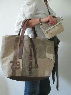 Bag caba vintage