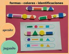 The world's catalog of creative ideas Montessori Toddler, Montessori Activities, Preschool Learning, Educational Activities, Toddler Activities, Learning Activities, Preschool Activities, Teaching, Art For Kids
