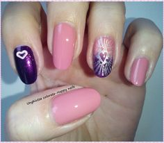 Unghiutze colorate-Happy nails: NOTD-Think Pink #3