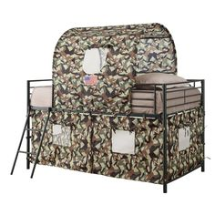 FREE SHIPPING! Shop Wayfair for Wildon Home ® Camouflage Tent Loft Bed - Great Deals on all Furniture products with the best selection to choose from!
