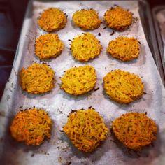 Sooo Paleo: Carrot Sweet Potato Latkes #GERD-friendly