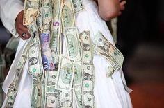 Dollar dance at Weddings