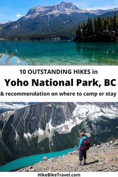 Yoho National Park Hikes - 10 of the Best - Hike Bike Travel