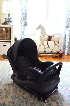 """Editor's Note: This post is sponsored as I was sent several complimentary items for the nursery and all are marked as """"c/o"""" throughout the post. Baby Boy Car Seats, Best Baby Car Seats, Baby Life Hacks, Baby Gadgets, Baby Necessities, Dream Baby, Everything Baby, Baby Kind, Baby Groot"""