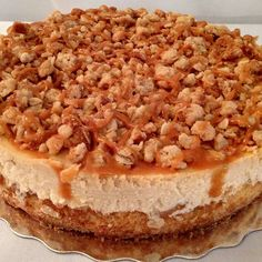 2013 Cheesecake of the Year finalist:  Apple Crumble Cheesecake by Lisa