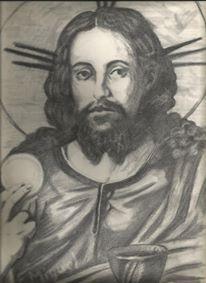 Jesús, carboncillo