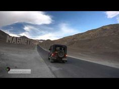 ** OPEN ME TO READ ** Hi :), For all those wondering as to exactly what happens in Magnetic Hill, when ever one talks about the gravity defying hill. See for. Ladakh India, Leh Ladakh, Mahindra Thar, India Country, Asia Continent, Trip Tour, Life Thoughts, India Travel, Jeeps